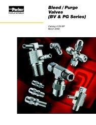 BV & PG Series - regula servis