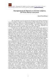 Vivacit du rcit franais des origines - Histoire@Politique