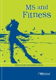 Fitness and MS Booklet (.pdf, 495KB) - MS Ireland