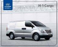E-Prospekt Hyundai H-1 Cargo