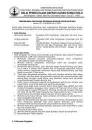 Pengadaan Bibit Penghijauan Lingkungan Jati KBK ... - BPDAS Solo