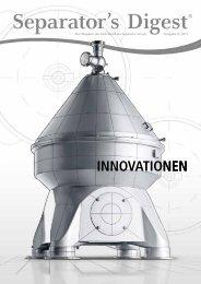 Separator's Digest 2011/3 (Sonderausgabe: Innovationen)