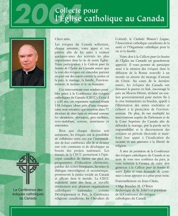 version intégrale - Conférence des évêques catholiques du Canada