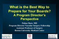 What is the Best Way to Prepare for Your Boards? - VascularWeb