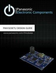 PAN1323ETU DESIGN GUIDE - Arrow Electronics