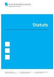 Statuts F [PDF, 262 KB] - Swissmechanic