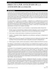 DIRECTIVA POR ANTICIPADO DE LA ATENCIÓN DE LA SALUD