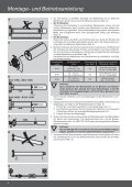 R12/17HK - R120/11HK Montage- und Betriebsanleitung ... - Page 6