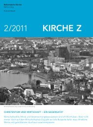 Kirche Z - Februar 2011 - Reformierte Kirche Zug