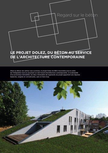 Le projet Dolez, du béton au service de l'architecture ... - Febelcem