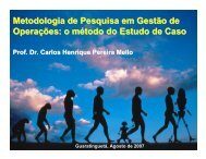 Palestra Estudo de Caso - Carlosmello.unifei.edu.br