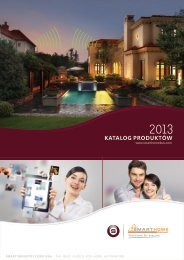 2013 Product catalogue (Polish)1.0.cdr - Smart-Bus Home Automation