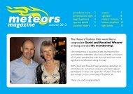 magazine - Meteors Triathlon Club