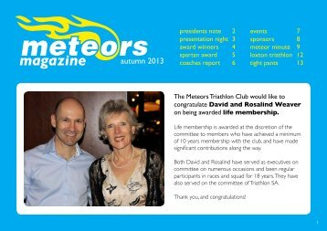 magazine - Meteors Triathlon Club