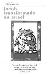 Jacob transformado en Israel