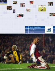 Annual report 2003/04 - Premierleague.com