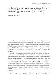 Festas régias e comunicação política no Portugal moderno - Revista ...