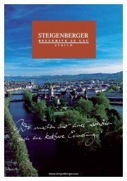 TReaT youRSeLf To puRe ReLaxaTion. - Steigenberger Hotels and ...