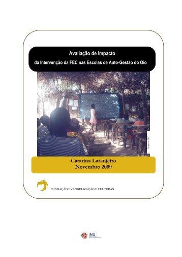 Catarina Laranjeiro Novembro 2009 Avaliação de Impacto - FEC