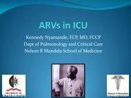 ARVs in ICU