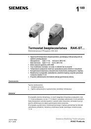 1189 Termostat bezpieczeństwa RAK-ST... - ALPAT