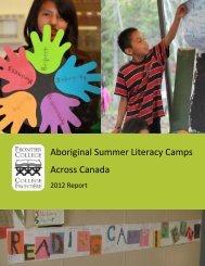 Aboriginal Summer Literacy Camps Across Canada - Charity Focus