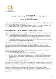 Avis Ecole des Mines de St Etienne - Commission des Titres d ...