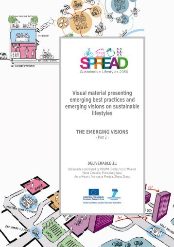 Visual material - SPREAD Sustainable Lifestyles 2050