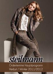 Ordertermine Hauptprogramm Herbst / Winter 2011/2012 - Steilmann