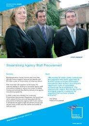 Streamlining Agency Staff Procurement - East Midlands Councils