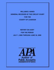 General Receiver of the Circuit Court of the County of Loudoun ...