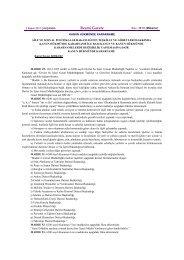6200 Sayılı Kanun'da(DSİ) - Devlet Su İşleri Genel Müdürlüğü