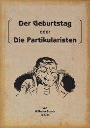 Der Geburtstag oder Die Partikularisten - Igelity
