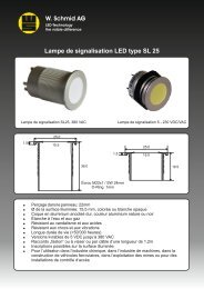 Lampe de signalisation LED type SL 25
