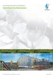 Laporan Keberlanjutan 2010 sustainability report - PGN