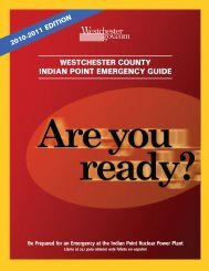 westchester county indian point emergency guide - NY-Alert