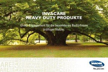 Katalog Invacare Heavy Duty Produkte