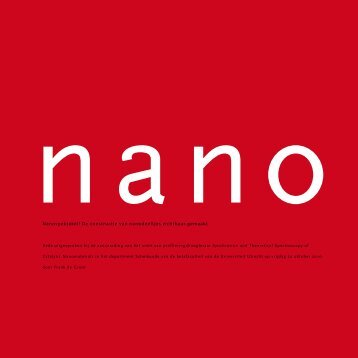 Nanospektakel! De constructie van nanodeeltjes zichtbaar gemaakt