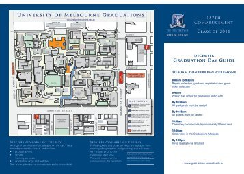 University of Melbourne Graduations - Graduating at Melbourne ...