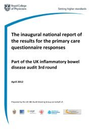 IBD Primary Care Questionnaire Report - HQIP