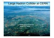 Large Hadron Collider at CERN - University of Edinburgh