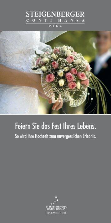 Hochzeitsflyer 2010.indd - Steigenberger Hotels and Resorts