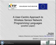 A User-Centric Approach to Wireless Sensor Network Programming ...