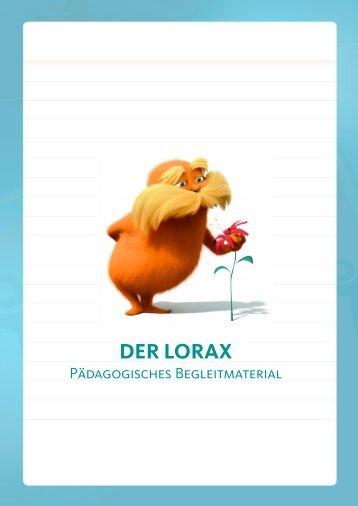 Der Lorax päd. Begleitmaterial - Vision Kino