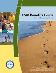 2010 Benefits Guide - Risk Management - Miami-Dade County ...