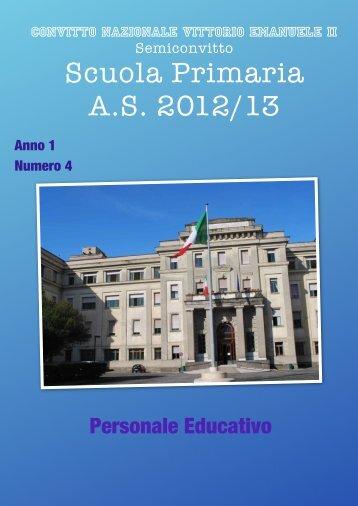 Giornale Semiconvitto N° 4 - Convitto Nazionale Vittorio Emanuele II