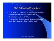 GCD and RSA