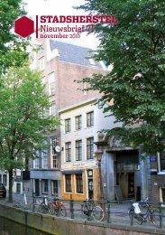 Nieuwsbrief 71 - Stadsherstel Amsterdam