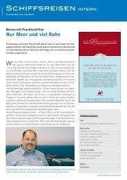 Artikel im Detail (PDF, 429 KB) - Frachtschiffreisen
