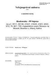Veřejnoprávní smlouva - Extranet - Kraj Vysočina